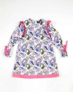 Vestito Baby Fantasia Con Applicazioni Dainetto Unito Enylò